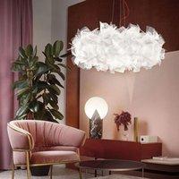 Pendant Lamps Post Modern Designer LED Lights Home Decor Living Room Light Bedroom Decoration Hanging Restaurant Indoor Lighting