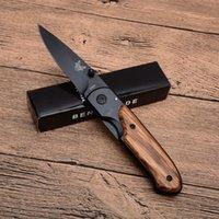 Benchmade DA44 vouwmes hout handvat titanium afwerking mes outdoor survival tactische messen edc zakken messen x49 x50 van BM42