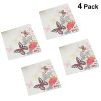 Упаковки 20 листов напечатанные салфетки мода бумаги полотенца на лицевой стороне ткани лица партия салфетки свадьба свадебные принадлежности