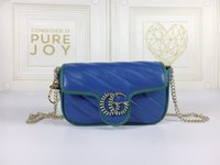 Gucci marmont mulheres luxurys designers gg sacos de couro genuíno mulher bolsa cartão chave carteira bolsa de bolsa crossbody bolsa de ombro totes bac