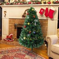 Noel süslemeleri 1.5 / 1.8 / 2.1 m uzun boylu yapay ağaç led ışık şerit dekorasyon ile PVC santa