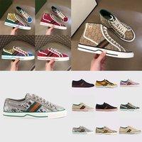 Sneakers Stil Rahat Ayakkabılar Moda Kalite Adam Kadınlar Yüksek Düşük Üst Ayakkabı Espadrilles Baskı Yürüyüş Sneaker Nakış Tuval Ayakkabı02 01