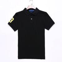 lauren ralph polo Ralph lauren 남성 디자이너 고품질 브랜드 여름 큰 말 폴로 셔츠 클래식 미국 디자이너 폴로 셔츠 남성 짧은 소매 스포츠 캐주얼 폴로