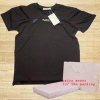 20ss мужской дизайнерская футболка с буквами мода летние футболки для женщин повседневный с коротким рукавом Homme одежда 2 стилей