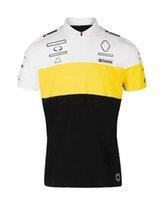 F1 Team Polo Jersey 2021 Nuova T-shirt con risvolto della camicia F1 con la stessa personalizzazione
