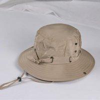 Wide Brim Hats Bucket Hat Solid Color Unisex Women Summer Sun Protection Fisherman Breathable Beach Travel Outdoor Cap Femme Gorro 2021
