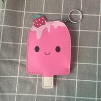 Coin Purses 2021 Cute Popsicle Women Small Wallet Bag Cartoon Clutch Zipper Mini Kid Purse Key Ring Money Gift For Girl