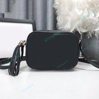 أعلى جودة المرأة حقائب كاميرا حقيبة crossbody شولر أكياس أسود جلد القابض حقيبة الظهر محفظة fannypack