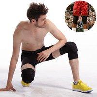 Padillas de rodilla de codo Mangas de fútbol de fútbol de abeja Mangas de fútbol 1 unids Baloncesto Ciclismo Apoyo Voleibol de celular Ski Kneepad Becerro