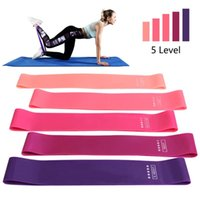 Resistance Bands Fitness Elastic Crossfit Exercise Rubber Training Workout Gum Sport Yoga Strength Gym Equipment