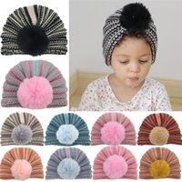 Baby Hat Winter Warm Headband Cap Kids Boy Girl Turban Hat Newborn Toddler Knitted Beanie Hats for Children Hair Accessories
