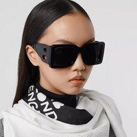 선글라스 여름 남자 여자 거리 패션 선글라스 B 편지 디자인 전체 프레임 UV400 7 색상 옵션 고품질