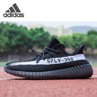 Yeezy Boost 350 V2 Kanye West Running Shoes ثابت عاكس Beluga 2.0 الرجال النساء حماريا سوداء أحذية رياضية بيضاء يورو 36-47