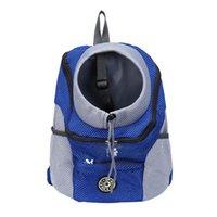 Pet Carrier Bag Drawstring Portable Cat Outdoor Dog Mesh Adjustable Travel Double Shoulder Straps Side Pockets Fashion Zipper Car Seat Cover