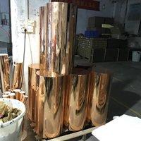 Party decoração acrílico cenário mental casamento personalizado cilindro de ouro rodada plinth yudao747