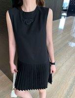 21SS 드레스 여성 패션 미니 귀여운 캐주얼 스커트 한정판 부드럽고 섬세한 공주는 귀족의 기질을 보여줄 것을 좋아합니다 3 크기의 여름 꼭대기
