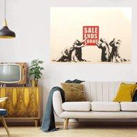 Scellé énorme peinture à l'huile sur toile Decor de la maison à la main peignée HD imprimé mur d'art d'art personnalisation est acceptable 21062113
