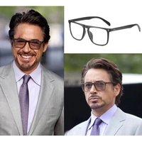 خمر مربع الإطار الرجال الأزرق ضوء حظر نظارات الاستقطاب النظارات الشمسية الرجل ليلة القيادة نظارات الذكور uv400 oculos 2iuk
