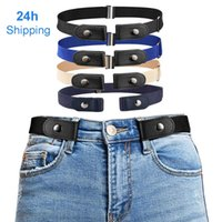 Belts for Women Buckle-free Waist Jeans Pants No Buckle Stretch Elastic for Men Invisible Dropshipping