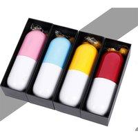 Capsule guarda-chuva mini luz guarda-chuvas pequenos de bolso anti-UV casos compactos 210826