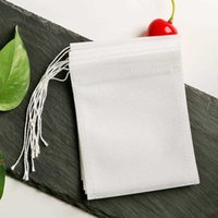Coffee & Tea Tools bags 5.5 x 7CM Empty Scented Bags With String Heal Seal Filter Paper for Herb Loose YYA47HIV7 80SO