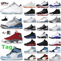 1S 대학 경주 블루 3S 남성 농구 신발 하이퍼 로얄 11s 브리드 감마 legen 콩코드 공간 잼 화이트 시멘트 UNC 13s 붉은 부싯돌 여자 운동화 트레이너