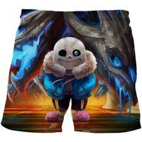 Stylish summer kids Undertale shorts boys and girls casual sports short Pants funny fight game anime swimwear