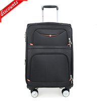 Swiss Army knife Trolley Case men's business fashion traveling case Oxford cloth luggage universal wheel 24 inch chassis
