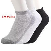 Socks 10pairs lot Sports Boat Short Casual Mesh Stealth Ankle Men's Breathable Thin Men