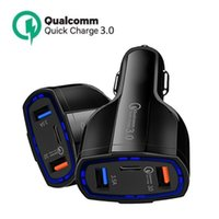3 in 1 USB Car Charger fast Charging type C QC 3.0 Fasts PD usbc Chargers Cars Phone Chargings Adapter for iPhone Samsung MQ50