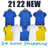 2021 2022 Cruzeiro Soccer Jersey Polo 21 22 Cruzeiro Esporte Clube 100th Football Shirts de Arscaeta Fred Training Cruzeiro Men's Women's Women Camisas