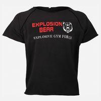 Muscleguys verão homens t-shirt de algodão o-pescoço tops roupas ginásios ginásios fitness tshirts masculino musculação manga curta toptees