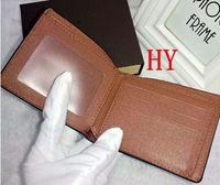 Top Hohe Qualität Designer Brieftaschen Karteninhaber Paris Plaid Stil Luxurys Geldbörse Herren Frauen High-End l Wallette v1