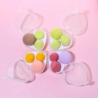 Sponges, Applicators & Cotton 3PCS Foundation Powder Cushion Peach Shape Cosmetic Puff Beauty Egg Makeup Sponge Blender