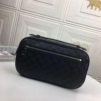 N41288 Ambler waist bag men fashion leather wallet luxury designer man lattice shoulder bags casual sports clutch N41289