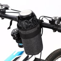 Bike Saddles Neutral Non-standard Thermal Insulation Head Pack 750ml Polyester Water Bottle Cycling Equipment Bag