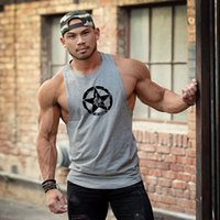 Gym Warriors Cotton Gym Tank Tops Men Sleeveless Tanktops For Boy Bodybuilding Clothing Undershirt Fitness Stringer workout Vest