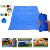 Outdoor Pads Portable Pocket Picnic Mat Ultralight Waterproof Beach Tarp With Sack Camping Hiking Foldable Blanket Sleeping