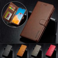 Luxury Leather Case For HUAWEI P40 P30 P20 Pro Lite P Smart 2021 Wallet Flip Cover Mate 10 20 30 Y5 Y9 With Card Slots Cell Phone Cases