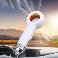 Mini Vehicle Air Purifier Portable Bil Airs Färsk Negativ Ionisk Filtrar Oxygen Bar Ozon Ionizer Anjon Auto Tillbehör Inredning