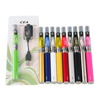 EGO EVOD CE4 Blister Starter Kit 650mAh 900mAh 1100mAh Ego-T Bateria CE4 CE4 Clearomizer E Cigarro Vape Kit