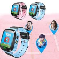 Оригинальный Q528 Y21 с защитной пленки ребенк LBS Smart Watch с фонариком Baby SOS Позвоните 100% Расположение Устройство Устройство Безопасный G22