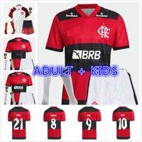 Yetişkin Çocuk Kiti 21 22 Jersey Futbol Formaları 2021 2022 FLEMISH DE ARRISTACAETAO Ribeiro Diego Goleiro Flamengo Gabriel B