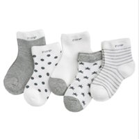 Men's Socks 5pairs lot Baby Thicken Cartoon Comfort Cotton Kids Boy For 0-2 Years Clothes Accessories