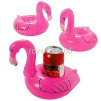 Swanflamingo напитки чашки держатель бассейна поплавки барные присталки плавучие устройства детская ванна игрушка маленький размер