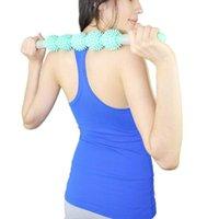 Yoga Masaje Stick Body Sport Tool Terapia Física Restauración Punto de presión Rodillo muscular WHSHOPPE ACCESORIOS