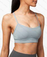 L Bras womens sports underwear double-sided sanding tight-fitting thin belt sexy tanks beautiful back vest sling yoga wear bra Underwear