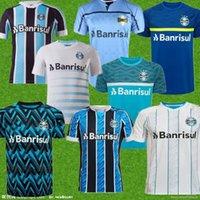 Homens 21 22 Grêmio Paulista Jerseys 2021 2022 Gilchmei Johnath Miller Luan Marlone Football Shirt