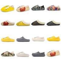 2021 SLRN Slipper Sandals صندل كتابات الصحراء الرمال الثلاثي الراتنج ويست الشريف رغوة عداء السمسم شارع نمط النقي الأساسية الدفء في الخريف والشتاء النعال