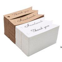 100 قطعة / الوحدة كرافت ورقة التسمية الرجعية فارغة ورقة السعر شنقا علامة اليدوية هدية بطاقة المرجعية الأمتعة علامة شنق تسمية عيد الميلاد علامة DHD6619